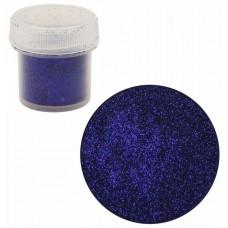 Сухие блестки, Фиолетово-синий темный, F20128, 7г, 0,2 мм
