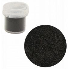 Сухие блестки, Черный, Н01128, 7г, 0,2 мм