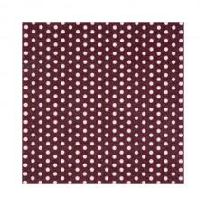 """Декупажные салфетки """"Точки"""", коричневые, 33*33 см, 17,5 г /м2, 20 шт, ti-flair"""