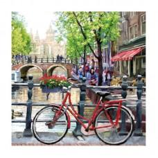 """Декупажные салфетки """"Амстердам"""", 33*33 см, 18,5 г/м2, 20 шт, Abiente"""