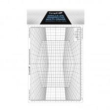 Сетка перспектива D для зарисовок, 26*30,5см, Graph'it