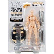 Пластиковый манекен Mister GRAPH'IT + 1 маркер, Graphit
