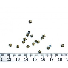 Стопперы, 3*3мм, Античная бронза, 10г., Margo