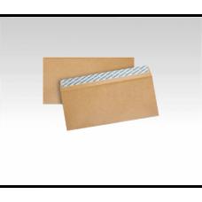 Конверт папер. ДЛ /2260_800/ скл. КРАФТ. 80 ЕКО 110*220мм (уп. 800шт)
