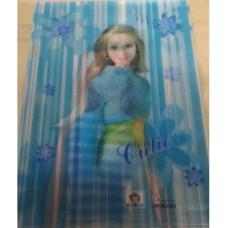 Папка-куток А4 /535120/ E-310 Barbie асорті (4/96)