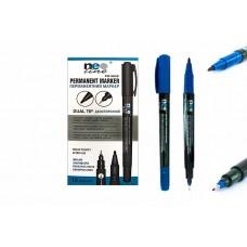 """Маркер перм. двосторон. """"Neo Line"""" /PM-5846/ синій (12/144/1728)"""