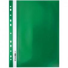"Швидк. пластик евро перф.""Еconomix Light"" /Е38504-04/ А4 зелений (10/300)"