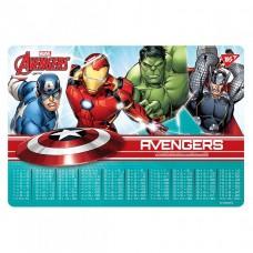 "Подложка настольная дет. 42,5 * 29см ""YES"" / 491646 / ""Таблица умножения"" Marvel.Avengers ""(10/200)"