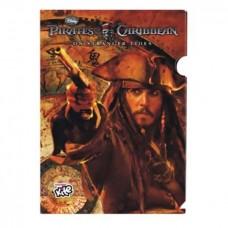 """Папка-куток А4 """"Kite"""" /PC11-201WK/ """"Pirates"""" 160мкр, (12)"""