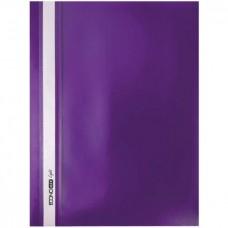 "Скор. пл. Б/ПЕРФ.""Еconom"" /E38503-12/ А4 фіолетовий (10)"