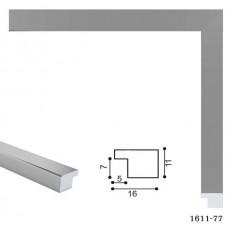 Фоторамка 21*30 /1611-77(32)/ срібло. Пласк.багет (1/24)