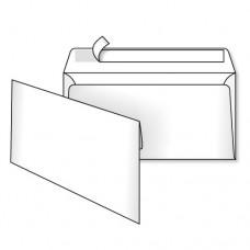 Конверт папер. DL склас /2040_50/ 110*220мм білий (уп.50шт/1000)