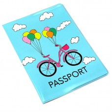 "Обложка Passport ""Полимер"" / 307028 / ""Love to travel"" ПВХ из недр. (10)"