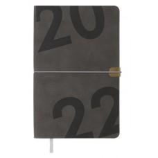 Щотижневик /BM.2704-09/ ДАТ 2022 BEST, A5, сірий, ш/зам