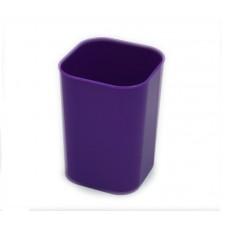 Стакан для ручек СТРП-01 фиолетовый (4/160)