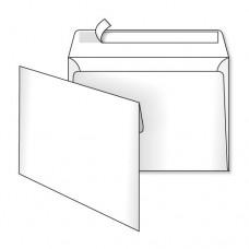 Конверт бум. С5 скл./3452/ 162*229мм белый (уп.500шт)