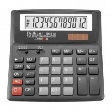 КалькуляторBrilliant BS-312 наст.12-разр,1 пам.155*155