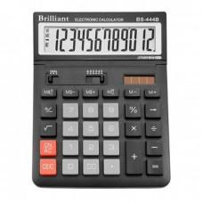КалькуляторBrilliant BS-444 наст. 12-разр,2 пам.145*197