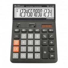КалькуляторBrilliant BS-414B наст.14-розр,1 пам.197*145мм