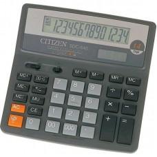 Калькулятор CITIZEN SDC-640 настоарк.14-разр.156*156мм
