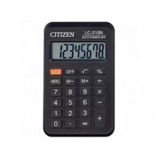 Калькулятор CITIZEN LC-210 II, карман.8-разр.99*64мм