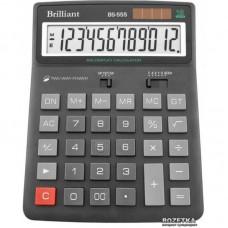 КалькуляторBrilliant BS-555 наст.12-разр,1 пам.155*205