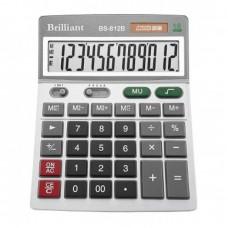 Калькулятор Brilliant BS-812B настол.12-розр,2 пам.140*180
