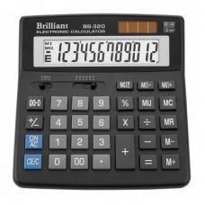 КалькуляторBrilliant BS-320 наст.10-розр,1 пам.155*155
