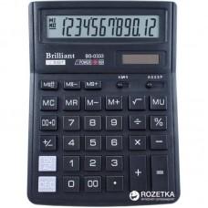 КалькуляторBrilliant BS-0333 настол. 12разр, 2 пам, 143*192