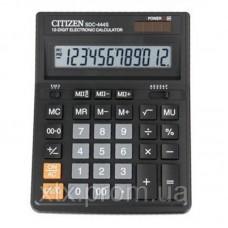 Калькулятор CITIZEN SDС-444S,наст, 12-разр,150*200мм