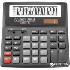 КалькуляторBrilliant BS-314 наст.14-розр,1 пам.155*155