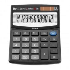 КалькуляторBrilliant BS-212 наст.12-розр,1 пам.100*125