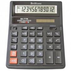 КалькуляторBrilliant BS-777М наст.12-розр,2 пам.205*159