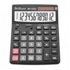 КалькуляторBrilliant BS-2222 наст. 12-разр,2 пам.150*192