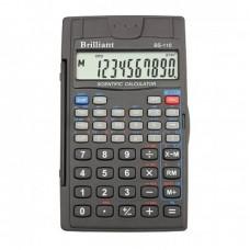 КалькуляторBrilliant BS-110 інж.10-розр,56 функций 70*120