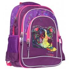 """Ранець-рюкзак """"CLASS"""" /9934/ """"Dog"""" 2 від., 38*28*18см (1/20)"""