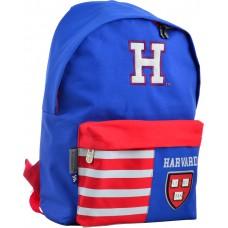 "Рюкзак молодіжний ""Yes"" /555040/ SP-15 Harvard blue, 41*30*11 (1/10)"