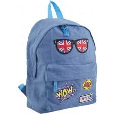 """Рюкзак підлітковий """"Yes"""" /553925/ ST-15 Jeans London, 30*36*12 (1/25)"""
