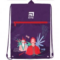 """Сумка для взуття """"Kite"""" /VIS19-601L-1/ з кишенею, (42749) (1/25)"""