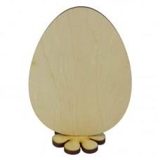 """Заготовка """"Великдень Яйце звичайне на підстав. """" /В-0350/ ФАН 7*9,5см. Атлас"""