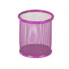 Підст. для ручек кругл. /K17-2110-10/ 80х80х100мм, мет. рожева. (1/12)