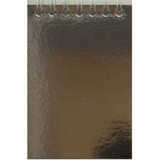 "Блокнот ""Рюкзачок"" А6 /ЗК-21/ 40арк.,метал.карт.обкл.,тонов.блок,СП.ВЕРХ(10)"