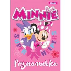 "Раскраска А4 1Вересня ""Minnie"", 12стр."