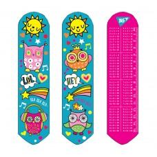 "Закладка 2D ""Disco owls"""