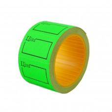 Ценник зеленый прямоугольный флюорисцентный TCBIL 30х20 мм 4.0 м Datum