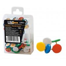 """Кнопки """"LEO"""" /140130/ L1911, 100 шт (10/400)"""