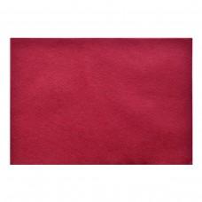 Набор Фетр мягкий бордовый, 21*30см (10л)